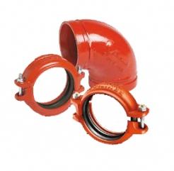 Mechaninės jungtys plieniniams vamzdžiams (Grinnel)