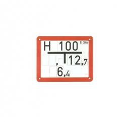 Hidrantų ir šulinių žymėjimo lentelės