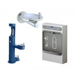 Vandens gėrimo fontanėliai ELKAY