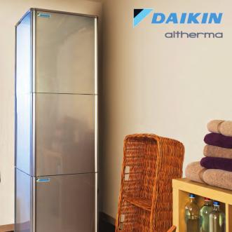 Naujos kartos Daikin Altherma aukštatemperatūriai šilumos siurbliai oras/vanduo